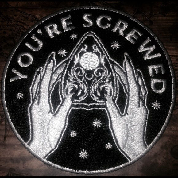 Hot Topic Accessories Ouija Board Patch Occultgoth Poshmark